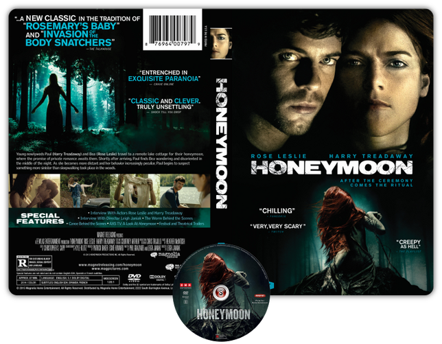 Honeymoon - Copertina DVD + CD