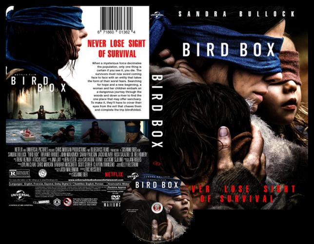 Bird Box - Locandina - Copertina DVD + CD