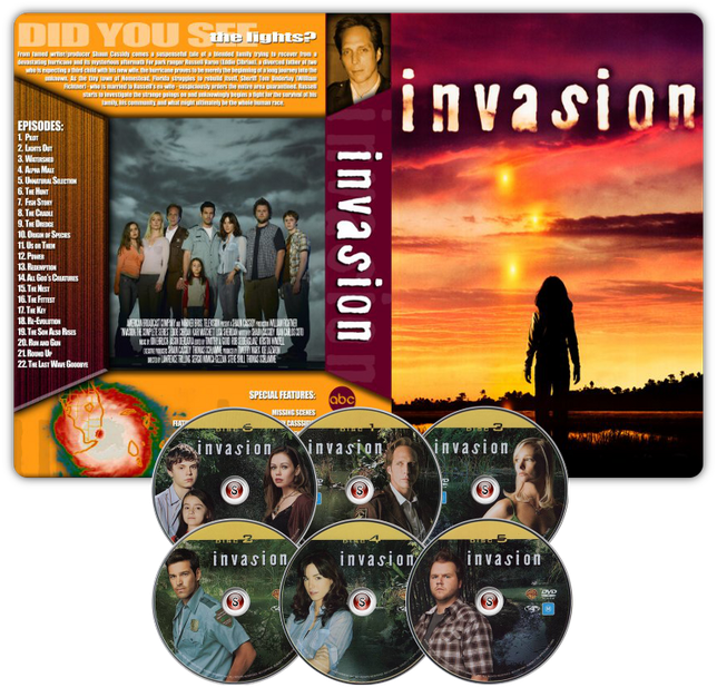 Invasion Copertina DVD + CD