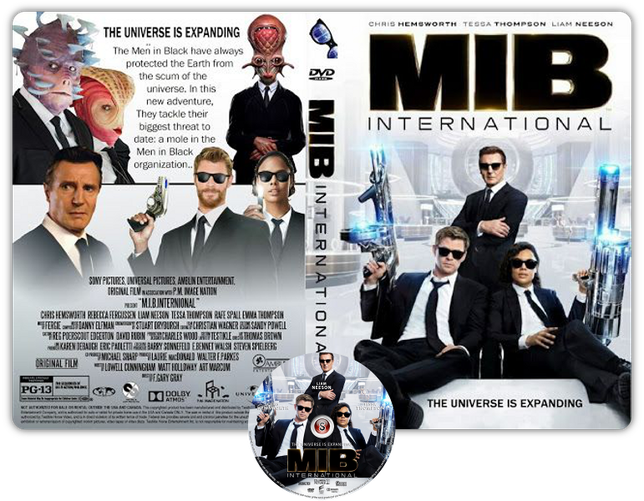 Men in black International - Copertina DVD + CD