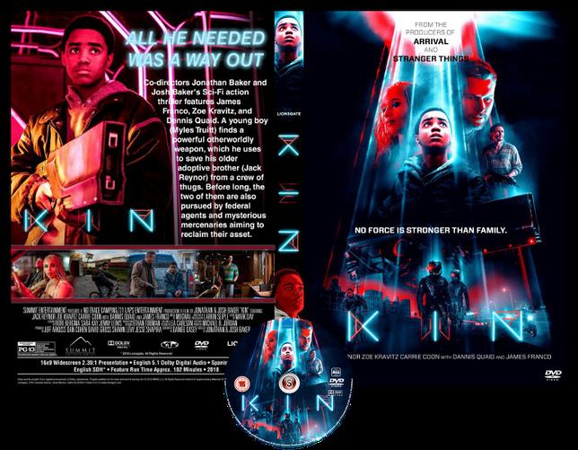 KIN - Copertina DVD + CD