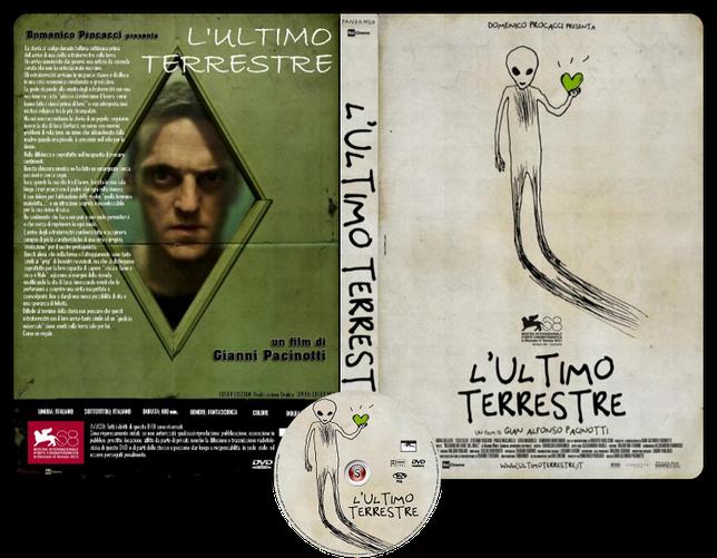 L'ultimo terrestre Copertina DVD + CD