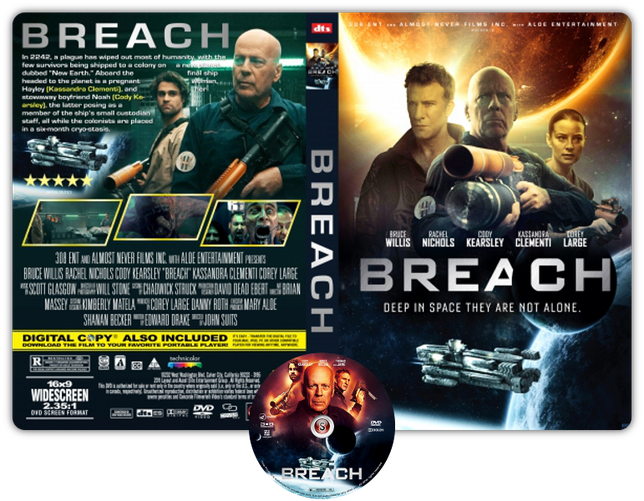 Breach - Copertina DVD + CD