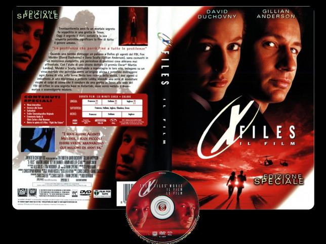 X Files Il film - Copertina DVD + CD