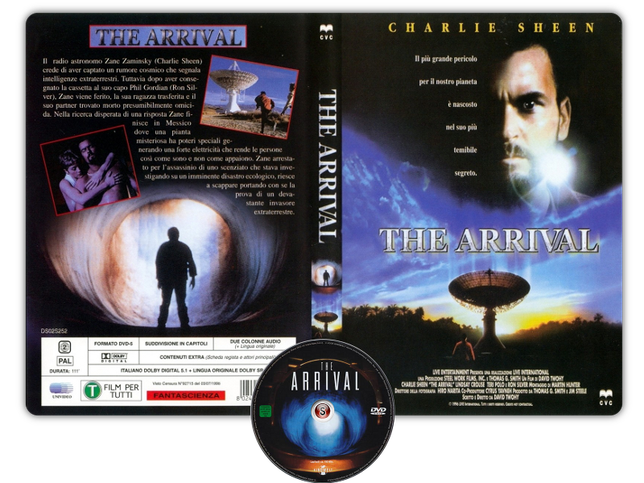 The arrival - Copertina DVD + CD