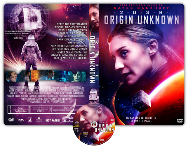 Origin unknown - Copertina DVD + CD