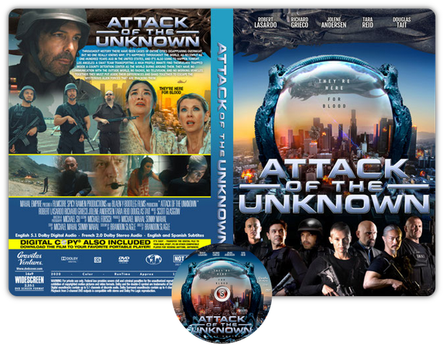 Attack the block  Copertina DVD + CD