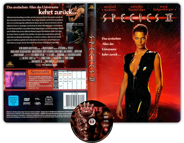 Species 2 Copertina DVD + CD