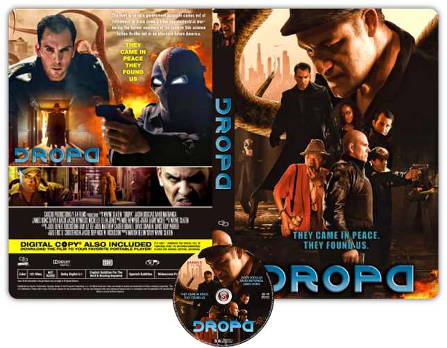 DROPA - Locandina - Copertina DVD + CD