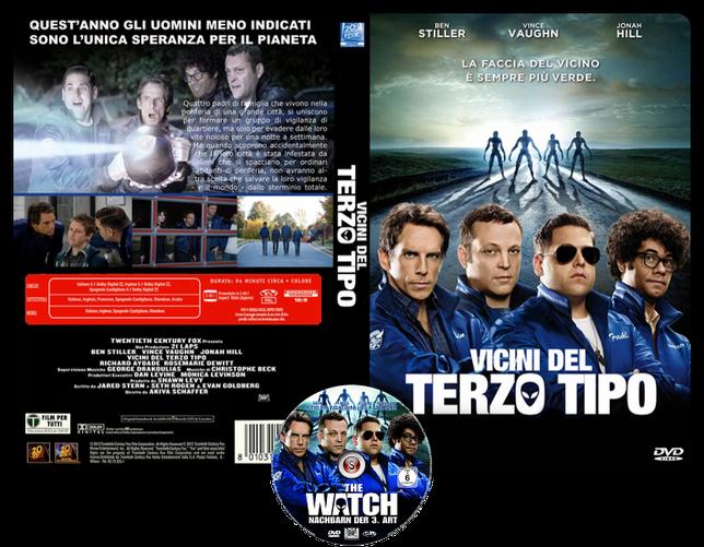 Vicini del terzo tipo - The watch - Copertina DVD +CD