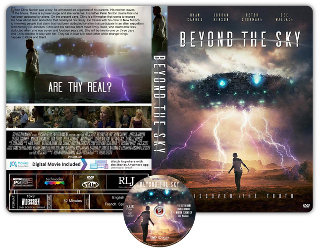 Beyond the sky - Copertina DVD + CD