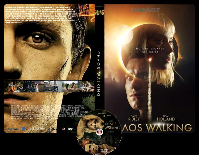 Chaos Walking - Copertina DVD + CD