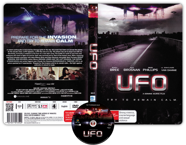Ufo - Copertina DVD + CD