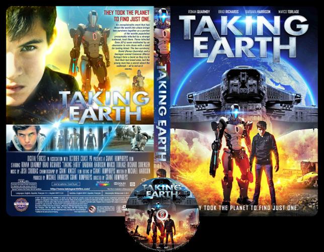 Taking Earth Copertina DVD +CD
