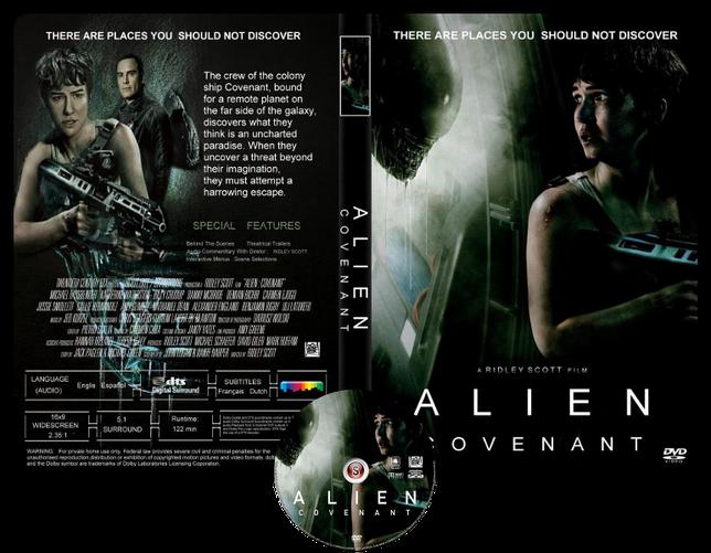 Alien Covenant - Copertina DVD + CD