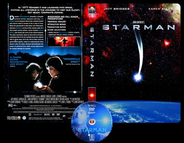 Starman - Copertina DVD + CD