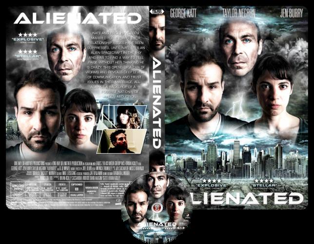 Alienated - Copertina DVD + CD