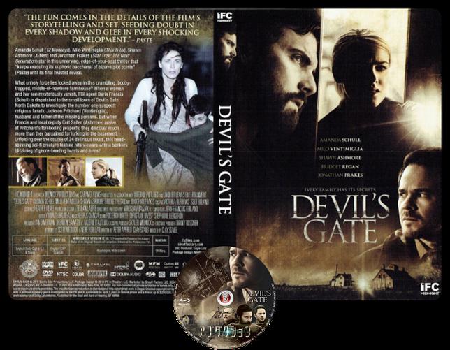 Devil's Gate - Copertina DVD + CD