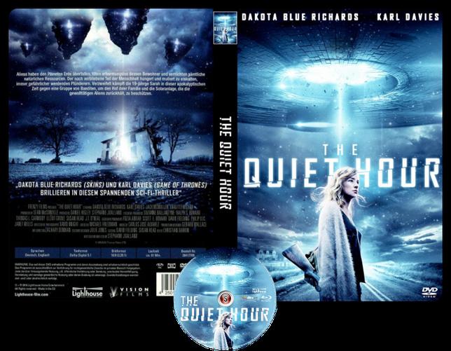 The quiet hour - Copertina DVD + CD