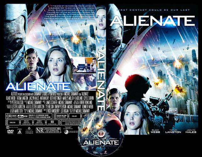 Alienate - Copertina DVD + CD