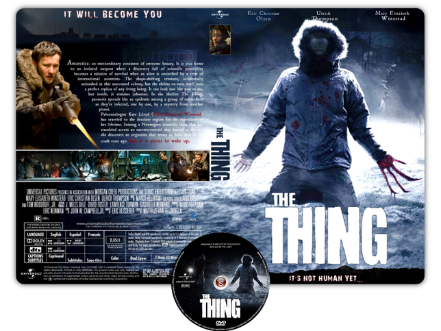 La cosa - The thing Copertina DVD + CD