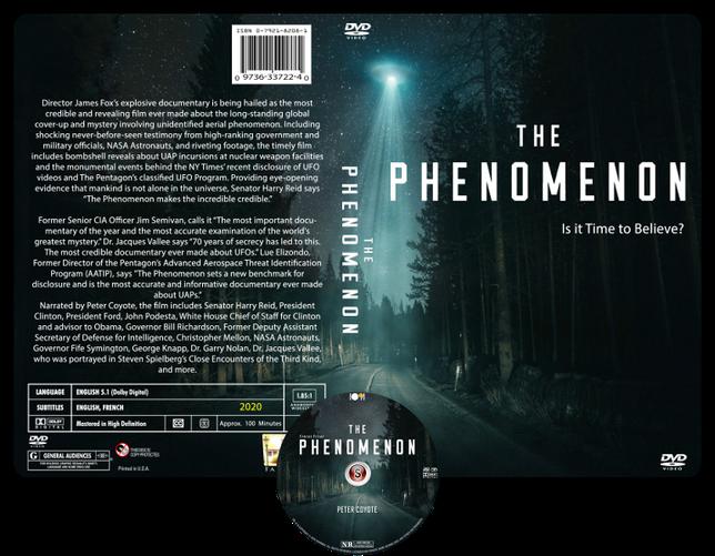 The Phenomenon - Copertina DVD + CD