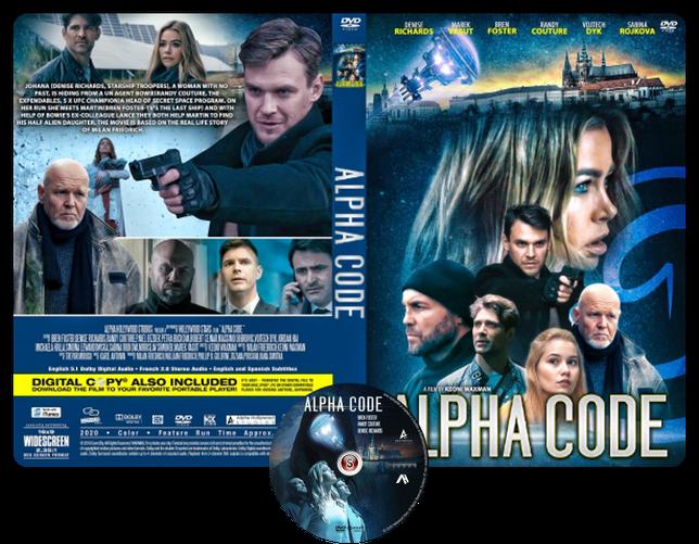Alpha code - Copertina DVD + CD