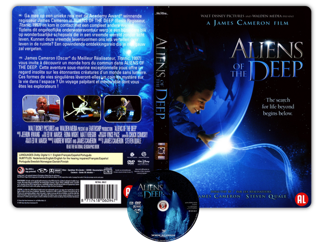 Aliens of the deep - Copertina DVD + CD