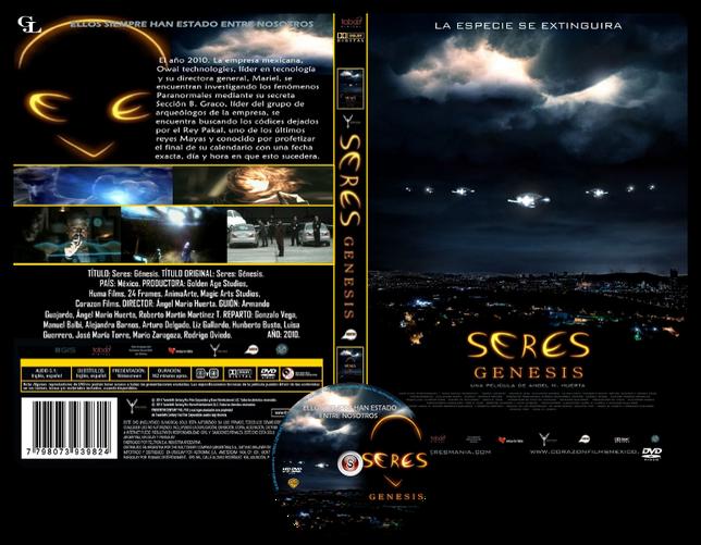 Seres genesis  - Copertina DVD + CD
