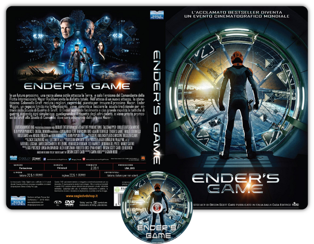 Ender's game - Cover DVD + CD