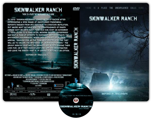 Skinwalker Ranch - Copertina DVD + CD