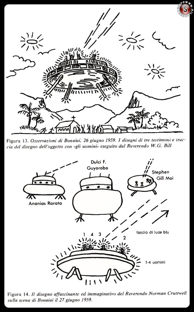L'avvistamento di Boinaiai