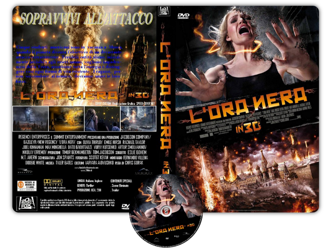 L'Ora Nera - The Darkest Hour Copertina DVD +CD