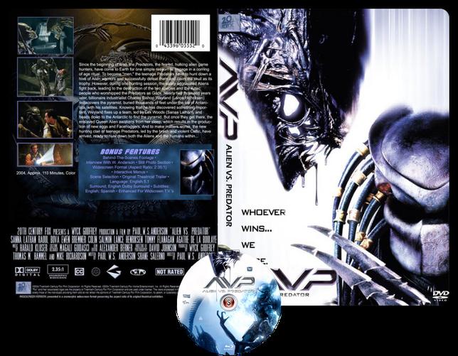 Alien Vs Predator - Copertina DVD + CD