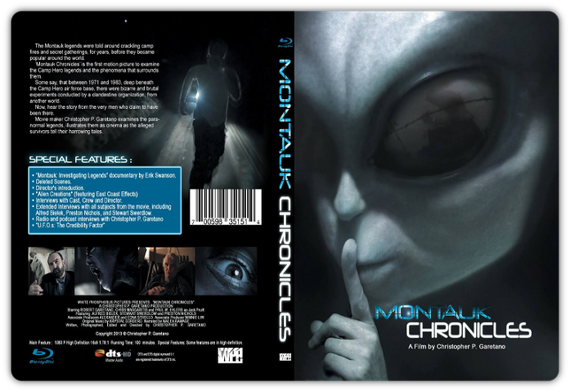 Montauk Chronicles - Cover DVD