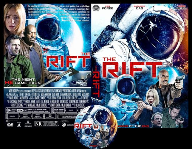 The Rift: Dark Side of the Moon - Copertina DVD + CD