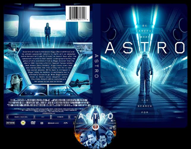 Astro - Copertina DVD + CD