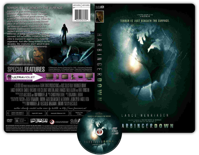 Harbinger down - Copertina DVD + CD