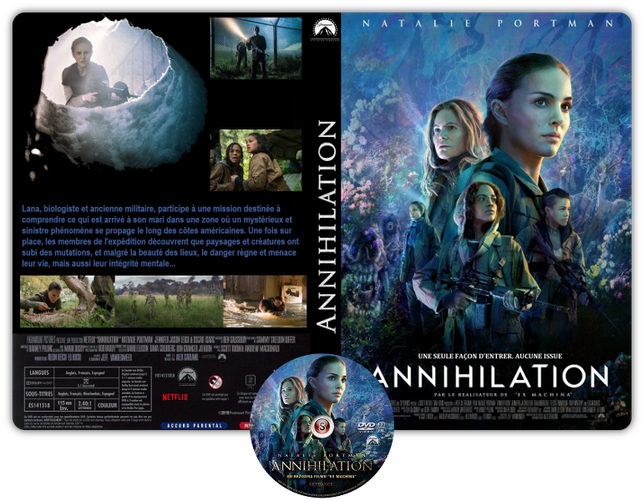 Annientamento - Copertina DVD + CD