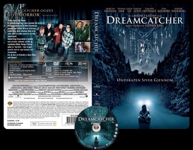 L'acchiappasogni - Copertina DVD + CD