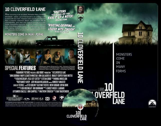 10 Cloverfield lane - Copertina DVD + CD