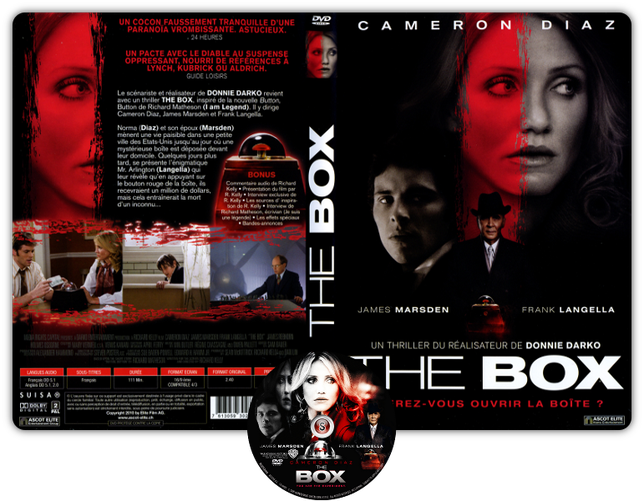 The box - La scatola Copertina DVD + CD