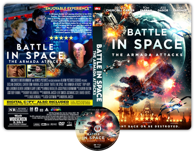 Battle in Space: The Armada Attacks - Copertina DVD + CD