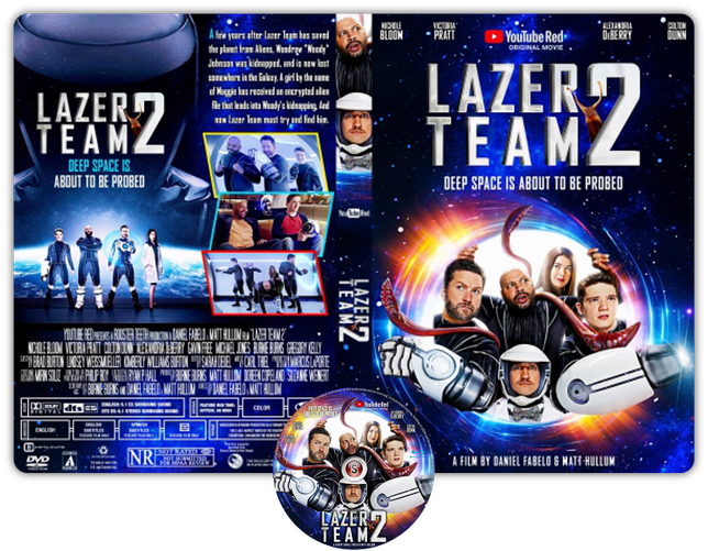 Lazer team 2 - Copertina DVD + CD