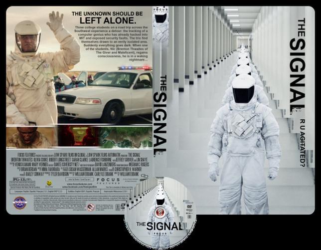 The signal - Copertina DVD + CD