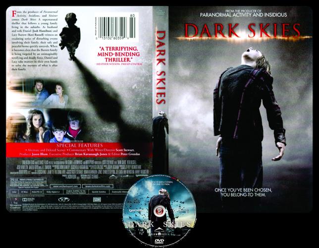 Dark skies - Oscure presenze - Cover DVD + CD