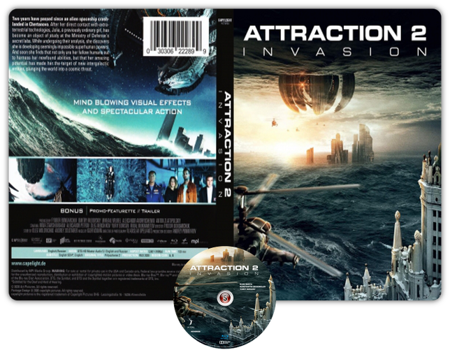 Attraction 2 invasion - Locandina - Copertina DVD + CD