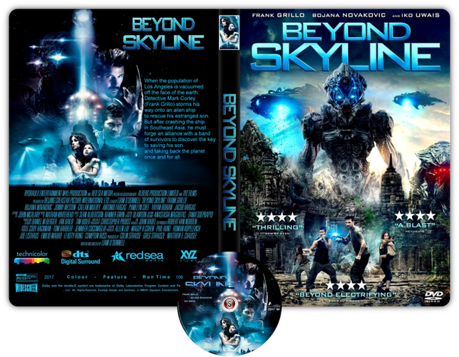 Beyond Skyline - Copertina DVD + CD
