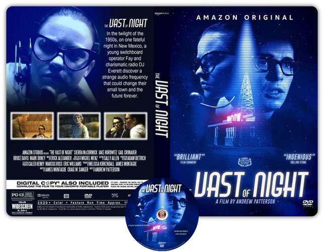 The vast of night - Copertina DVD + CD