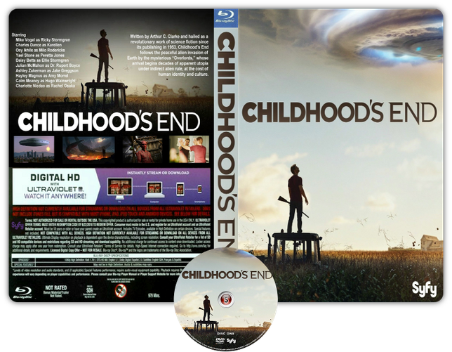 Childhood's End - Copertina DVD + CD